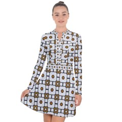 Peola Long Sleeve Panel Dress by deformigo