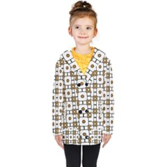 Peola Kids  Double Breasted Button Coat
