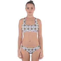 Peola Cross Back Hipster Bikini Set by deformigo