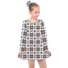 Peola Kids  Long Sleeve Dress by deformigo
