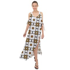 Peola Maxi Chiffon Cover Up Dress by deformigo