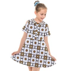 Peola Kids  Short Sleeve Shirt Dress by deformigo