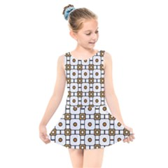 Peola Kids  Skater Dress Swimsuit by deformigo
