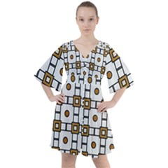 Peola Boho Button Up Dress