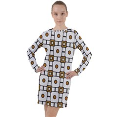 Peola Long Sleeve Hoodie Dress