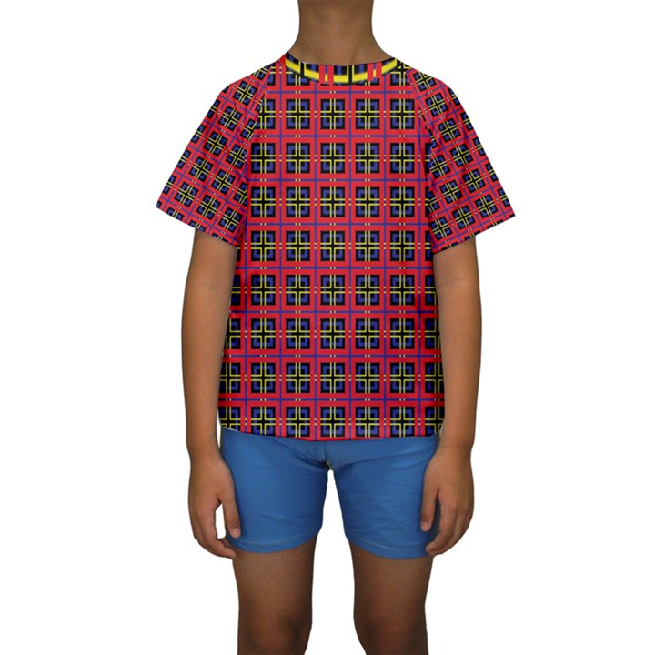 Wolfville Kids  Short Sleeve Swimwear