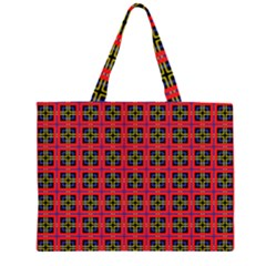 Wolfville Zipper Large Tote Bag