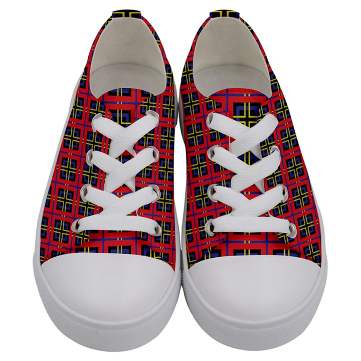 Wolfville Kids  Low Top Canvas Sneakers