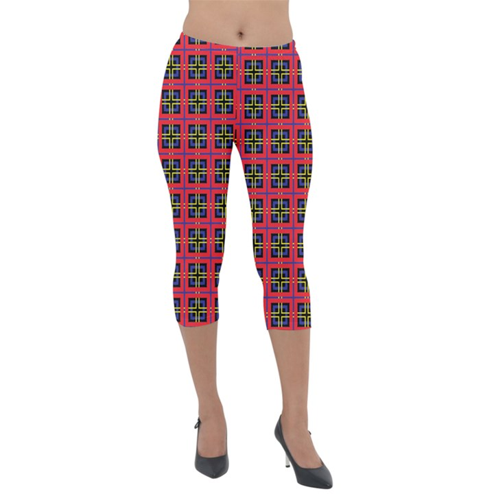 Wolfville Lightweight Velour Capri Leggings