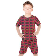 Wolfville Kids  Tee And Shorts Set by deformigo