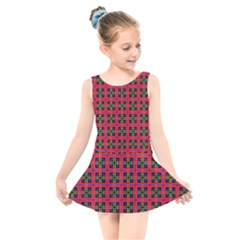 Wolfville Kids  Skater Dress Swimsuit by deformigo