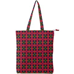 Wolfville Double Zip Up Tote Bag