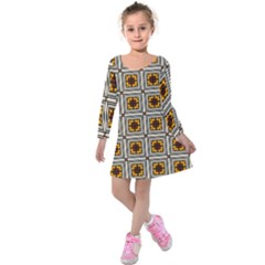 Leptis Kids  Long Sleeve Velvet Dress by deformigo