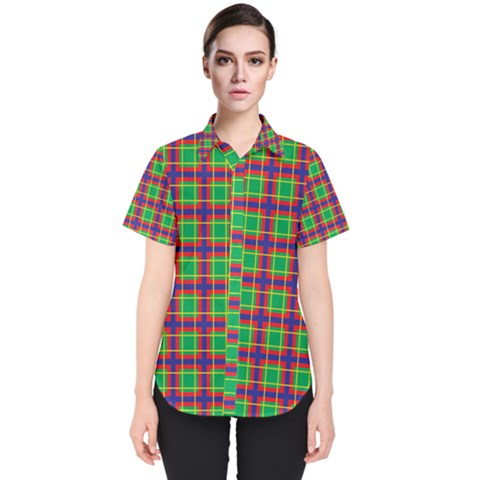 Savoy Women s Short Sleeve Shirt by deformigo