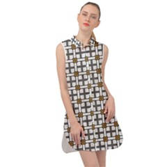William Fairwell Sleeveless Shirt Dress by deformigo