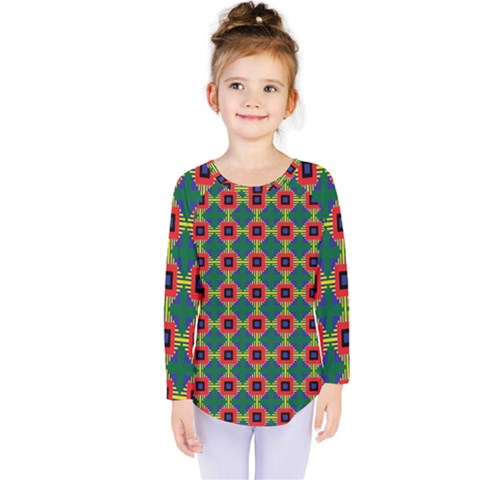 Sharuna Kids  Long Sleeve Tee by deformigo