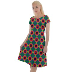 Sharuna Classic Short Sleeve Dress by deformigo