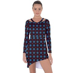 Yakima Asymmetric Cut Out Shift Dress