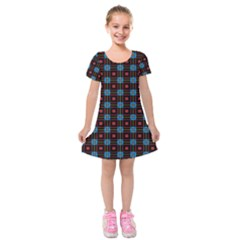 Yakima Kids  Short Sleeve Velvet Dress by deformigo