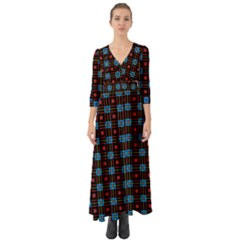 Yakima Button Up Boho Maxi Dress