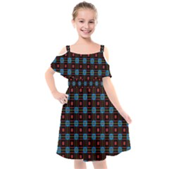 Yakima Kids  Cut Out Shoulders Chiffon Dress