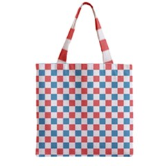 Graceland Zipper Grocery Tote Bag