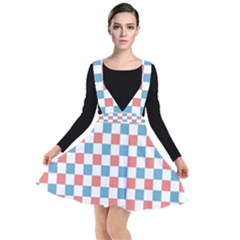 Graceland Plunge Pinafore Dress