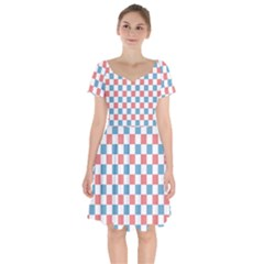 Graceland Short Sleeve Bardot Dress