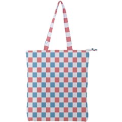 Graceland Double Zip Up Tote Bag