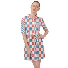 Graceland Belted Shirt Dress