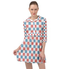 Graceland Mini Skater Shirt Dress