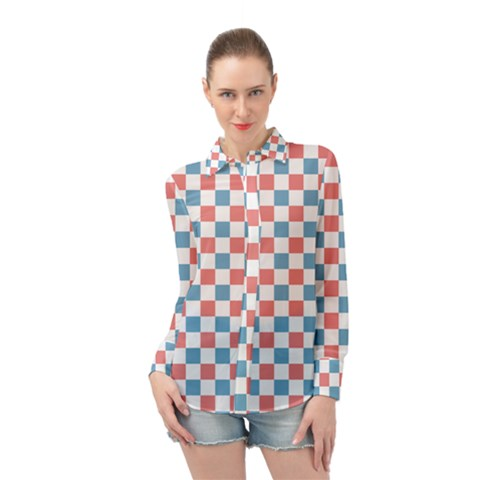 Graceland Long Sleeve Chiffon Shirt by deformigo