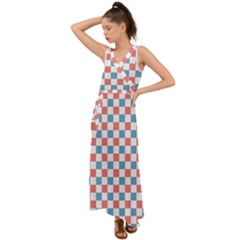 Graceland V-Neck Chiffon Maxi Dress