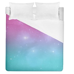 Pastel Goth Galaxy  Duvet Cover (queen Size) by thethiiird