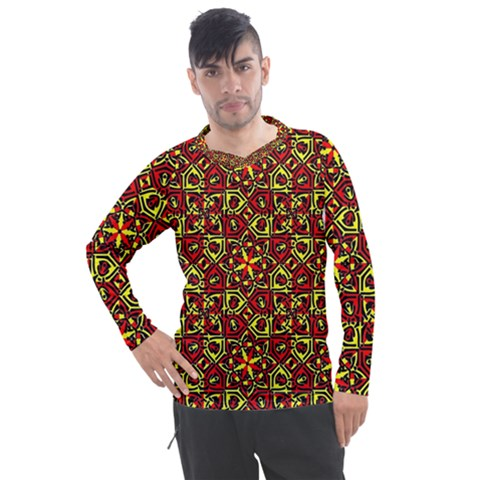 Rby-c-3-7 Men s Pique Long Sleeve Tee by ArtworkByPatrick