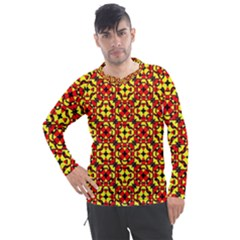 Rby-c-3-9 Men s Pique Long Sleeve Tee