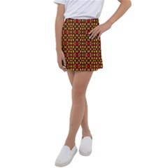 Rby C 4 6 Kids  Tennis Skirt by ArtworkByPatrick