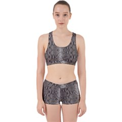 Python Snakeskin Print Work It Out Gym Set by LoolyElzayat