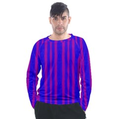 Tarija 016 Purple Blue Men s Long Sleeve Raglan Tee