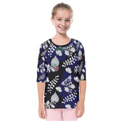 Vivitry Kids  Quarter Sleeve Raglan Tee