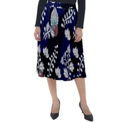 Vivitry Classic Velour Midi Skirt