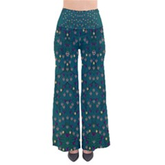 Reef Filled Of Love And Respect With  Fauna Ornate So Vintage Palazzo Pants by pepitasart