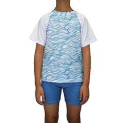 Abstract Kids  Short Sleeve Swimwear by homeOFstyles