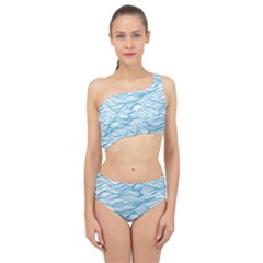 Abstract Spliced Up Two Piece Swimsuit by homeOFstyles