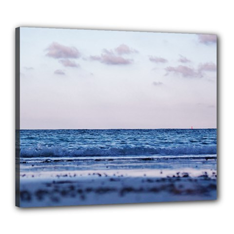 Pink Ocean Hues Canvas 24  X 20  (stretched)