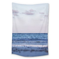 Pink Ocean Hues Large Tapestry by TheLazyPineapple