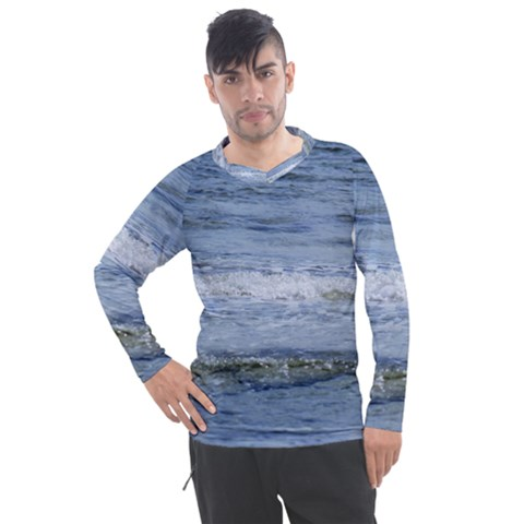 Typical Ocean Day Men s Pique Long Sleeve Tee by TheLazyPineapple