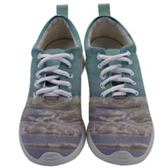Minty Ocean Mens Athletic Shoes by TheLazyPineapple