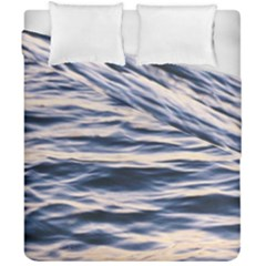 Ocean At Dusk Duvet Cover Double Side (california King Size) by TheLazyPineapple