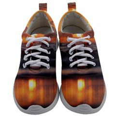 Ocean Sunrise Mens Athletic Shoes